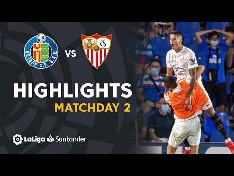 Getafe Sevilla Goals And Highlights