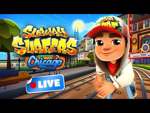 🔴 Subway Surfers World Tour 2018 - Chicago Gameplay Livestream