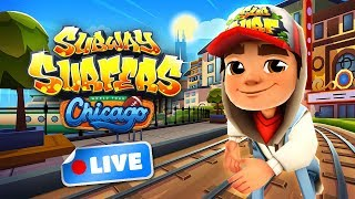 🔴 Subway Surfers World Tour 2018 - Chicago Gameplay Livestream