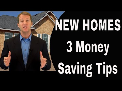 3 Top Tips To Save Money on New Homes