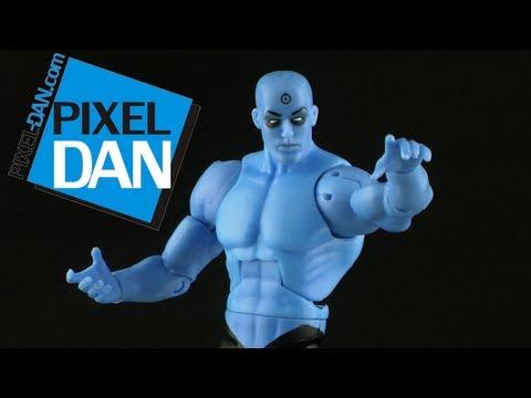 Mattel Watchmen Dr. Manhattan Figure Video Review