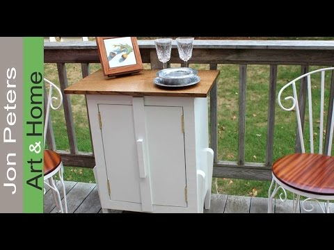 How to Build a Simple Outdoor Cabinet