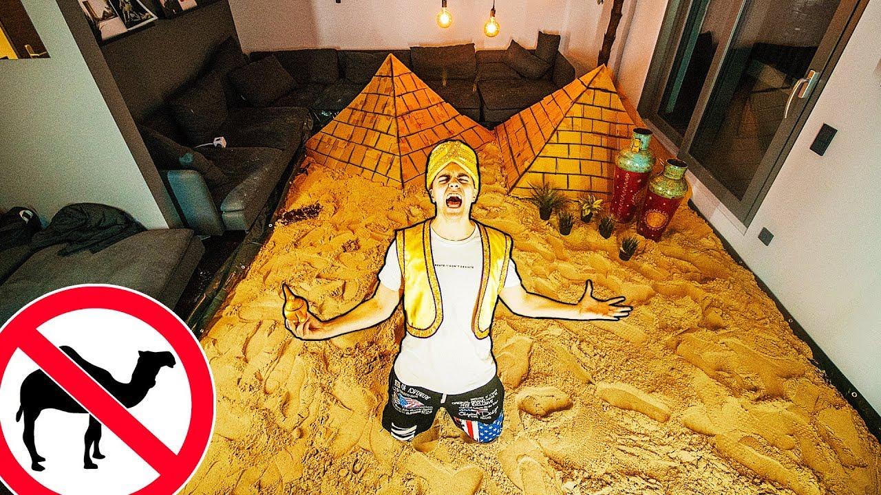 DER WÜSTEN PRANK! (2 Tonnen Sand???? )