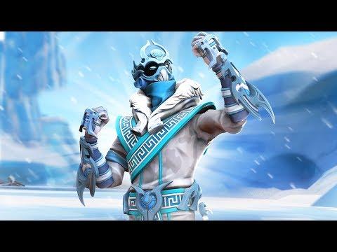 *NEW* SNOWFOOT SKIN!!