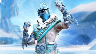 *NEW* SNOWFOOT SKIN!!