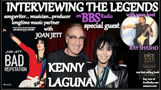 Kenny Laguna longtime Producer/ Music Partner w/Joan Jett