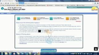 www.sbbjonline.com - How to login into State Bank of Bikaner and Jaipur- SBBJ
