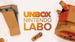 Nintendo Labo Vehicle Kit unboxing and build