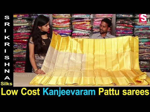 Low Cost Kanjeevaram Pattu Sarees With Price   Sri Krishna Silks Hyderabad   Saree Collections 2018