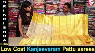 Low Cost Kanjeevaram Pattu Sarees with Price | Sri Krishna Silks Hyderabad | Saree Collections 2018
