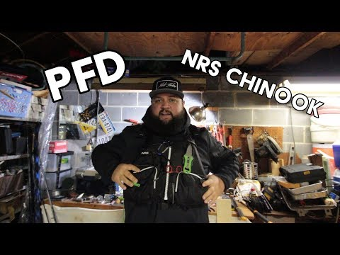 What's in my Fishing PFD- NRS Chinook