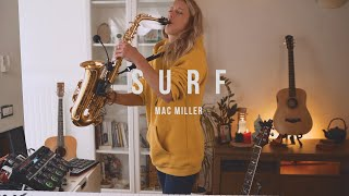 MAC MILLER - SURF (SAX COVER)
