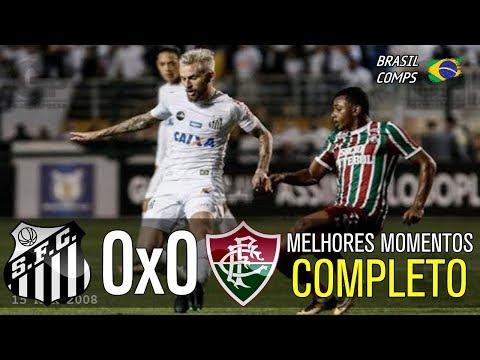 Santos 0 x 0 Fluminense | Melhores Momentos | Brasileirão 14/08/2017
