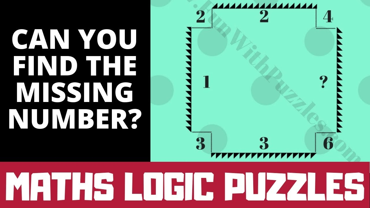 Maths Logic Problems with Answers | Missing Number #Maths Brain Teaser