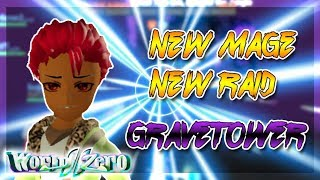New Mage Class And New Gravetower Raid Showcase/Gameplay | World // Zero | Roblox | ClarkZone