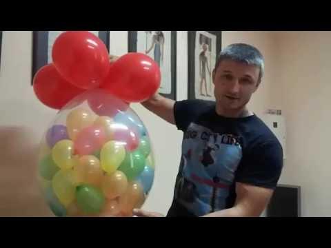 Как сделать шар-сюрприз своими руками