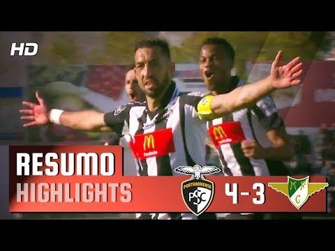 Resumo: Portimonense 4-3 Moreirense (Liga 28ªJ)