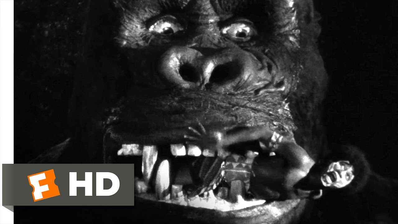 King Kong 1933 Capturing Kong Scene 610 Movieclips