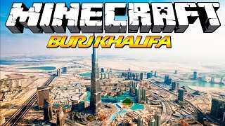 ♦ Mega Construções - Burj Khalifa | Minecraft