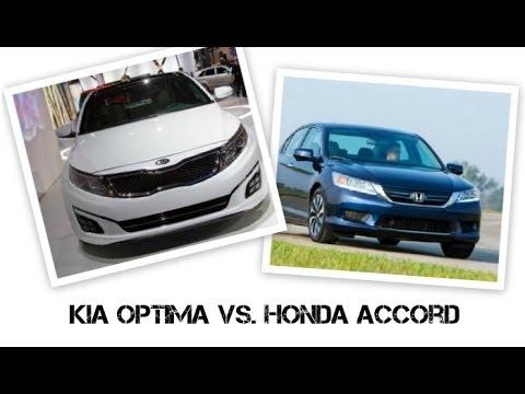 Kia optima vs honda accord youtube for Kia optima vs honda civic