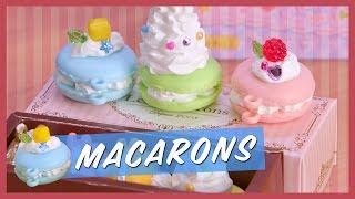 Rainbow Macarons Whipple Set | Kawaii Cookin 4k | Strawburry17