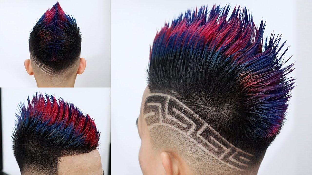 Kiểu tóc MÀO RỒNG độc nhất vô nhị 2020 chỉ có tại CHÍNH BARBER - Cắt tóc nam đẹp 2020