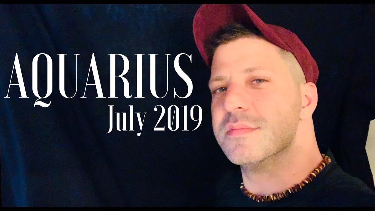 AQUARIUS July 2019 - OMG! THIS IS IT! HUGE CHANGE | OMEN | Romance & Love -  Aquarius Horoscope Tarot