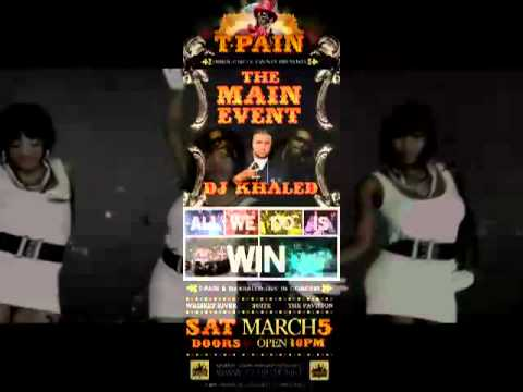 Inner Circle Events Presents T.Pain @ Whisky River & Suite Saturday, March 5 CI weekend 2011