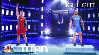 Martial Arts Sensei Battles Air National Guardsman in Herculean Pull - Titan Games 2019 (Highlight)