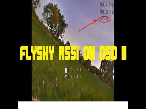 flysky rssi | finally I set it up!