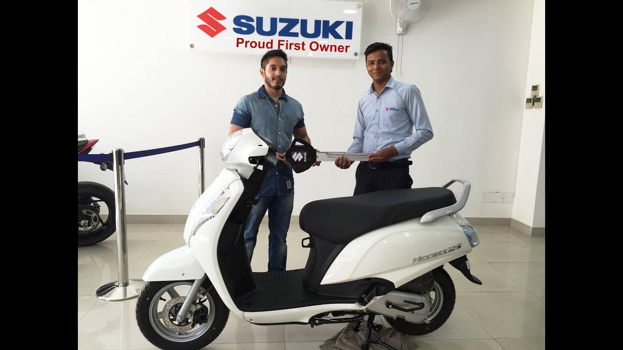 First Owner Of Suzuki Access 125 Disc Brake Varient 2016