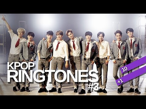 10+1! KPOP RINGTONES #3 | f(x), FT ISLAND, 4Minute, EXO and more