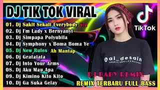 DJ TIKTOK TERBARU 2021 - DJ SAKIT SEKALI EVERYBODY X DAMON FULL BASS VIRAL REMIX TERBARU 2021