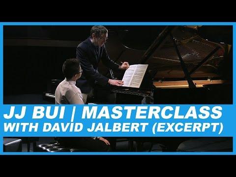 JJ BUI | MASTERCLASS WITH DAVID JALBERT (EXCERPT)