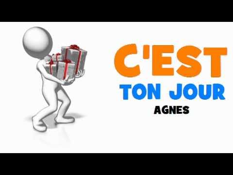 Joyeux Anniversaire Agnes Youtube