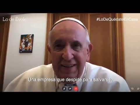 El papa Francisco contra los despidos de trabajadores por la pandemia de coronavirus