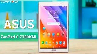 Asus ZenPad 8 Z380KNL - стильный планшет с поддержкой 4G - Видео демонстрация