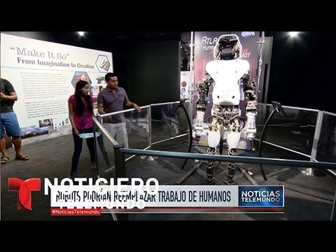 Robots podrían reemplazar el trabajo de humanos   Noticiero   Noticias Telemundo