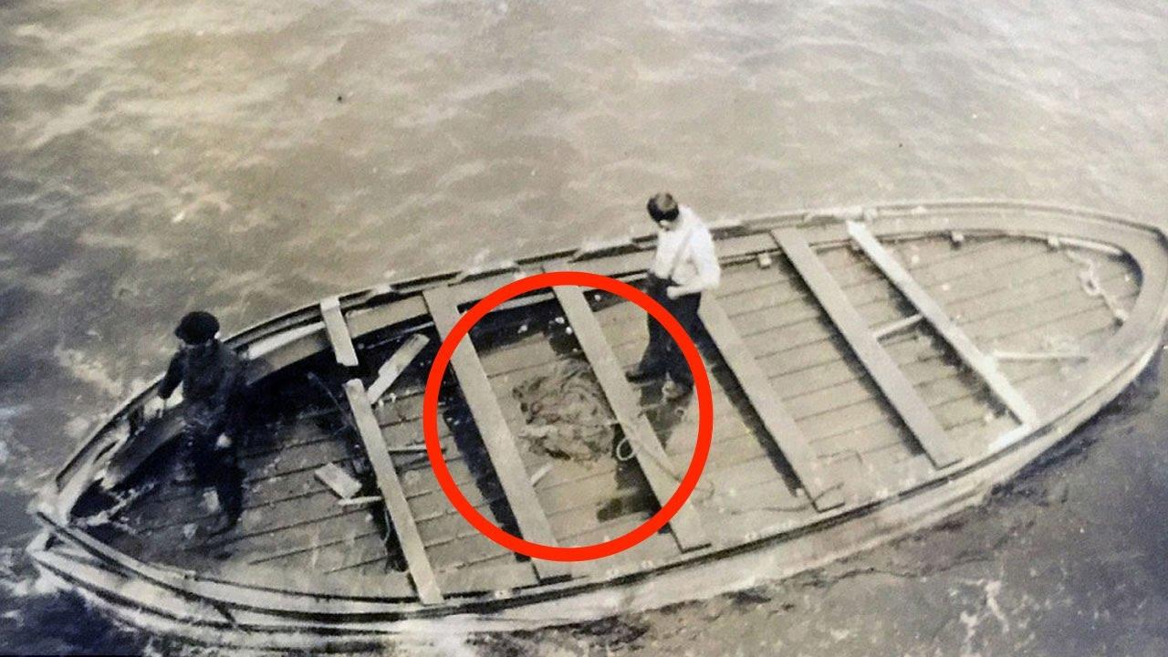 was im letzten rettungsboot der titanic gefunden wurde youtube. Black Bedroom Furniture Sets. Home Design Ideas