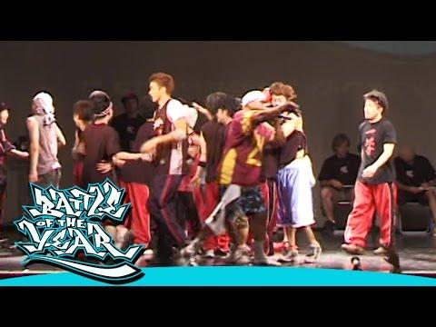 BOTY JAPAN 2005 PRELIMINARY - BATTLE FOR 1ST PLACE [BOTY TV]