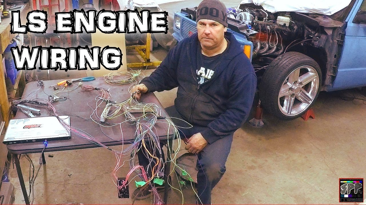 Hotrod Standalone Fuel Injection Ecm Wiring Rob Blows A Gasket Ls Engine Turbo 53 S 10 Budget Build