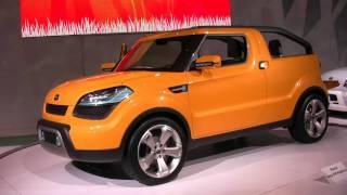 Kia Soulster In HD. Detroit Auto Show.