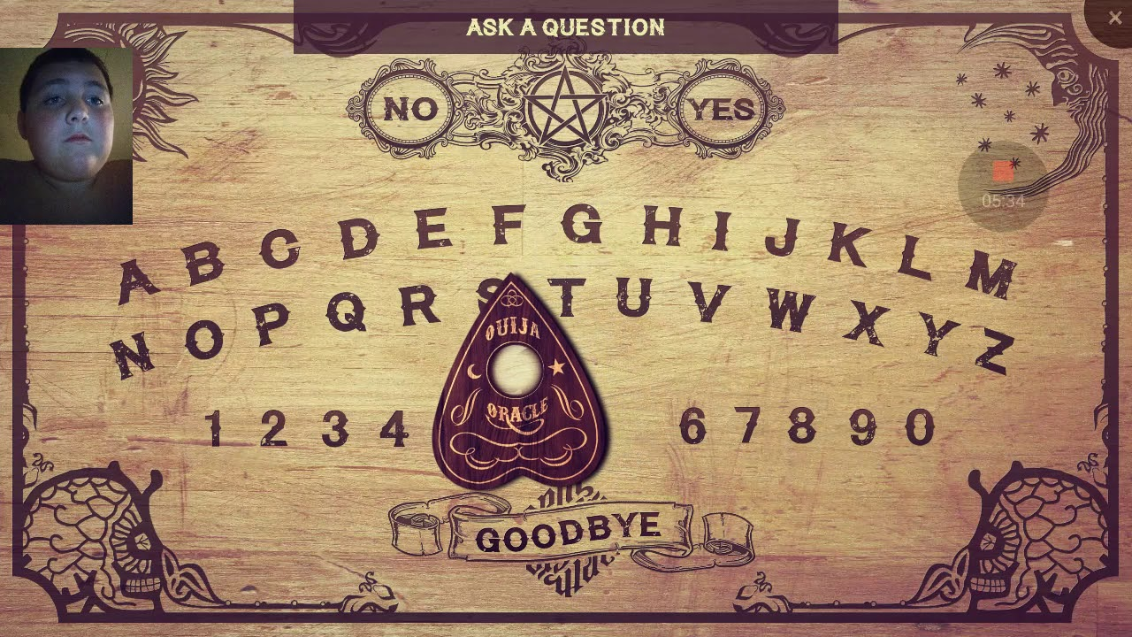 Haunted Ouija board Android app