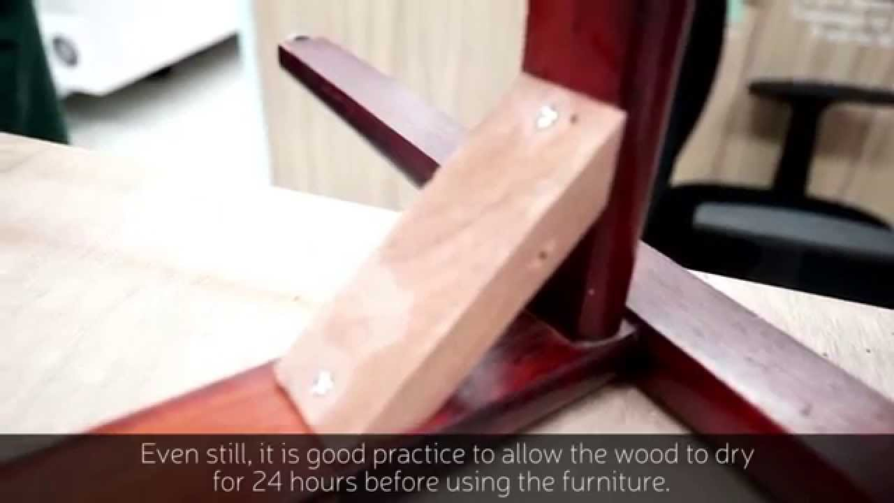 How To Strengthen Wooden Joints Of Furniture At Home Repair