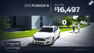 2015 Ford Fusion S Offer SP June Bommarito Ford