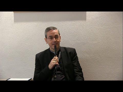 Intervention de Mgr Camiade, évêque de Cahors, sur le Bx Alain de Solminihac