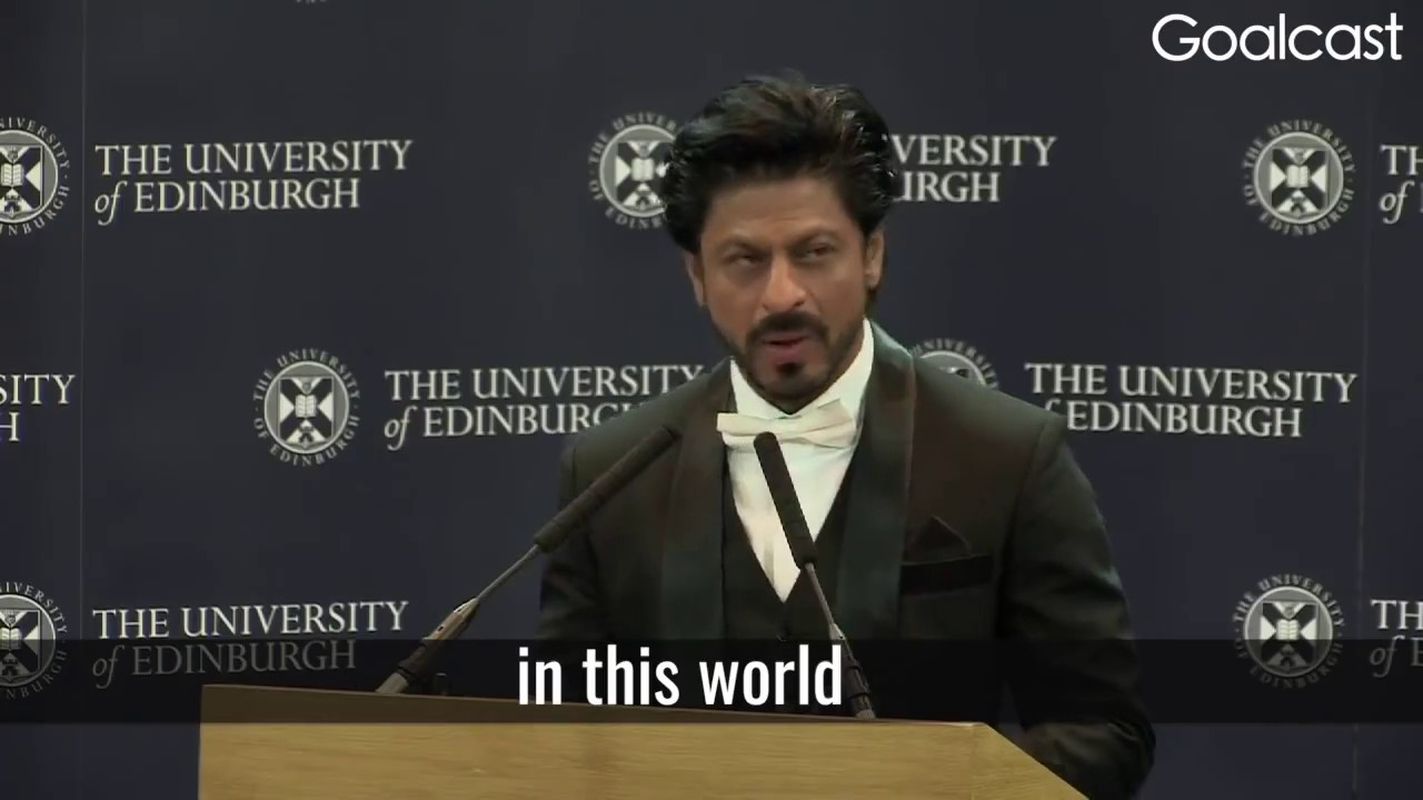 Download Shahrukh Khan - Inspirational speech about life sucess