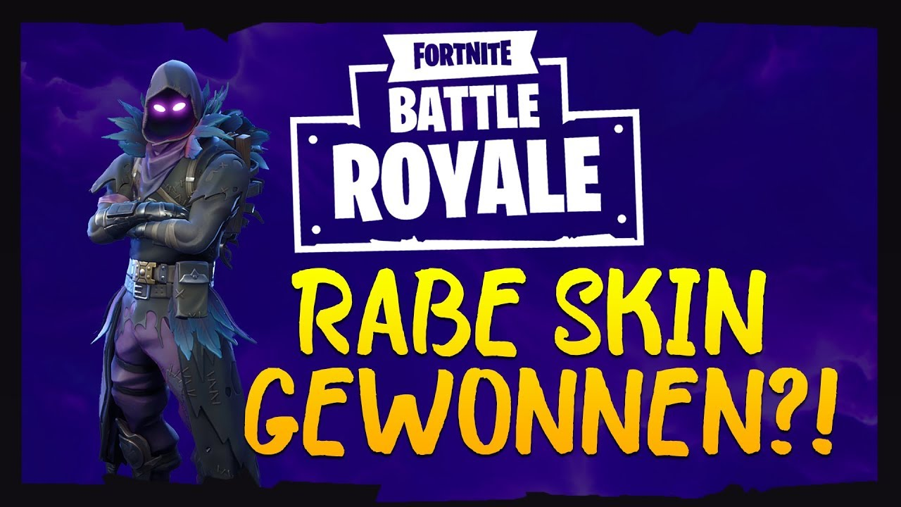 Fortnite Rabe Raven Skin Giveaway Gewonnen 12 Kill Solo Gameplay Pc Deutsch