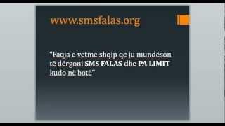 Dergo SMS falas dhe pa limit - smsfalas.org