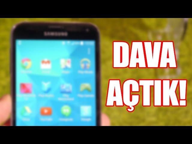 BU SEFER DAVA AÇTIK!: TVde Samsungla Anlaşmalı Diye Çakma Telefon Satan Yere Dava Açtık!
